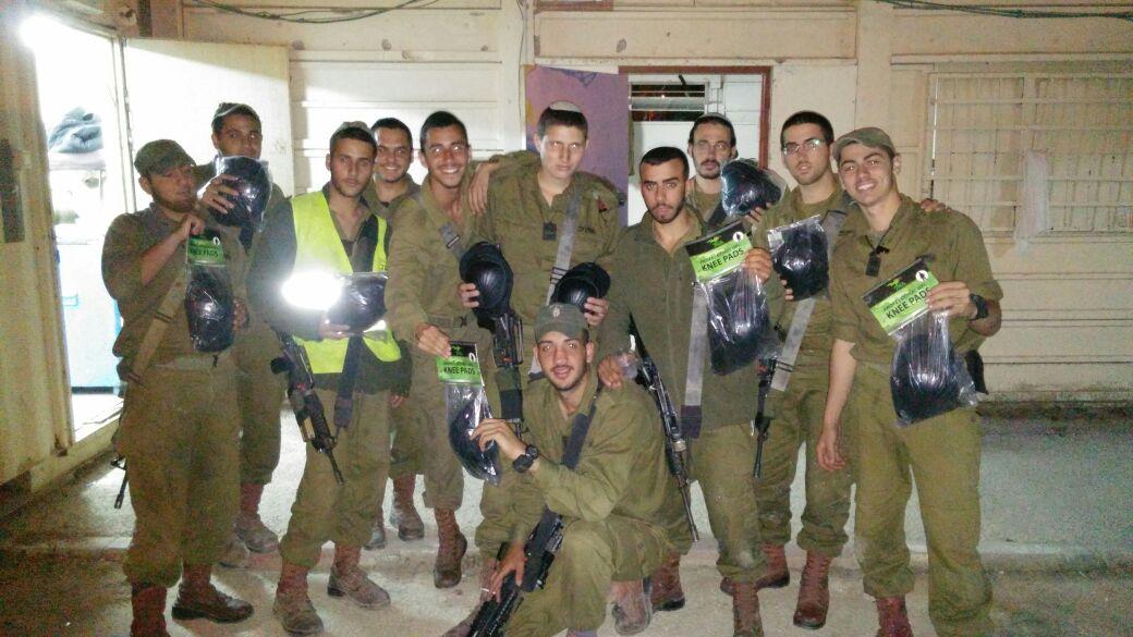 genouilleres soldats